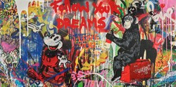 Everyday Life by Mr. Brainwash - Original on Canvas sized 48x24 inches. Available from Whitewall Galleries